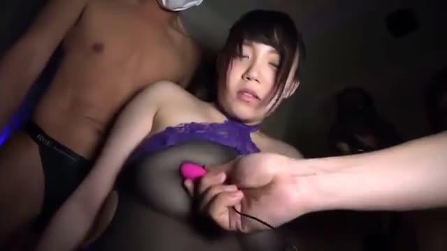 【天音ありす】爆乳美女JKがおっさんチンコでイキまくってるところをハメ撮り!